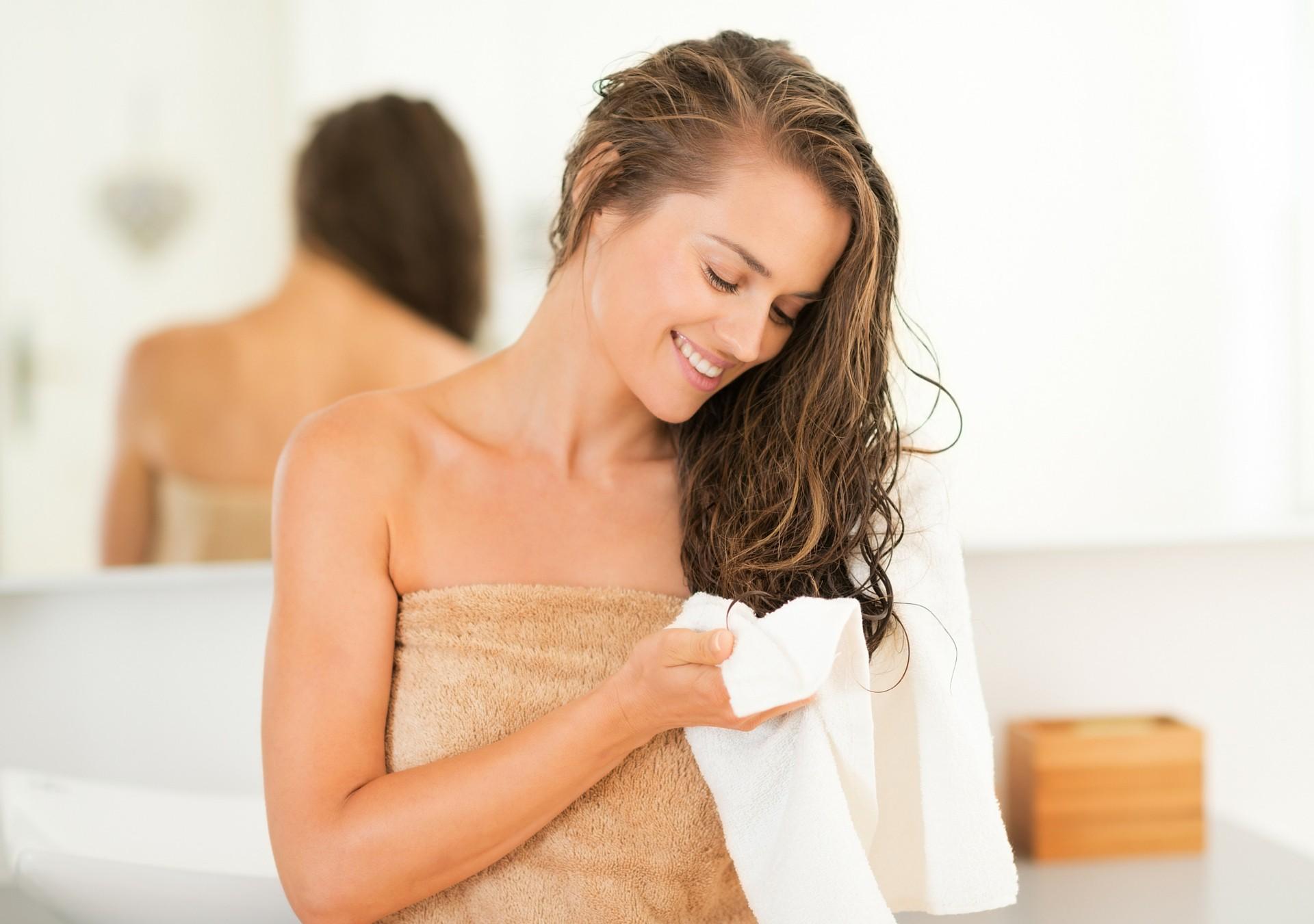Haare richtig ausbürsten