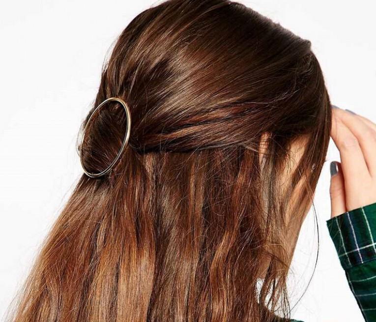 Frisuren Mit Großer Haarspange
